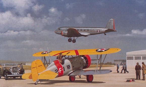 Flightdeck Friday: Boeing F4B-4 | Steeljaw Scribe