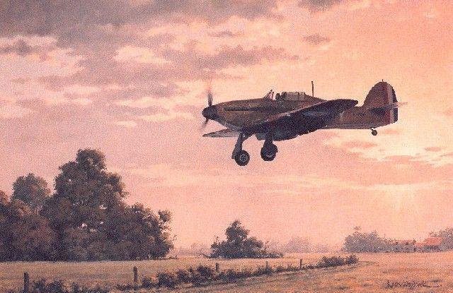 Hawker Hurricane Art Hawker hurricane mk 1Hurricane Art